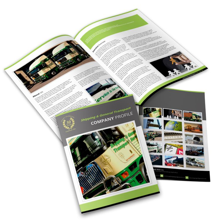 Shipping & General Brochure Design