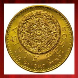 20 MEXICAN PESO in stock and has just been added to http://www.bullionuk.com/products/gold/coins/mexico/20-mexican-peso.html