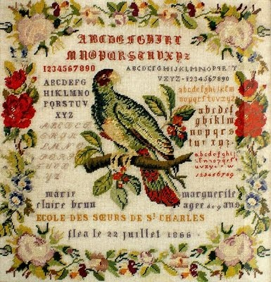 Needleprint France: Flea le 22 juillet 1866 ?