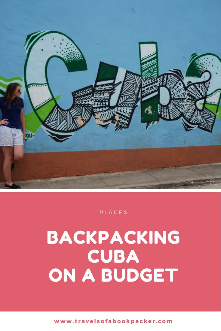 Backpacking Cuba on a Budget. Cuba is fast becoming the place to be but with a dangerous mix of a package holidays and a lack of independent tourists, independent travel in Cuba can be expensive. Having just spent almost a month in Cuba I have broken down some costs and collected some tips for doing Cuba on your own, without breaking the bank! Click here to read more!
