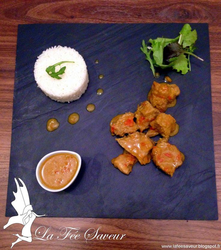La Fée Saveur....: Filet mignon de porc au curry
