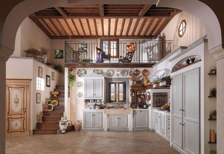 472 best images about cucine kitchen country shabby c on for Case moderne classiche