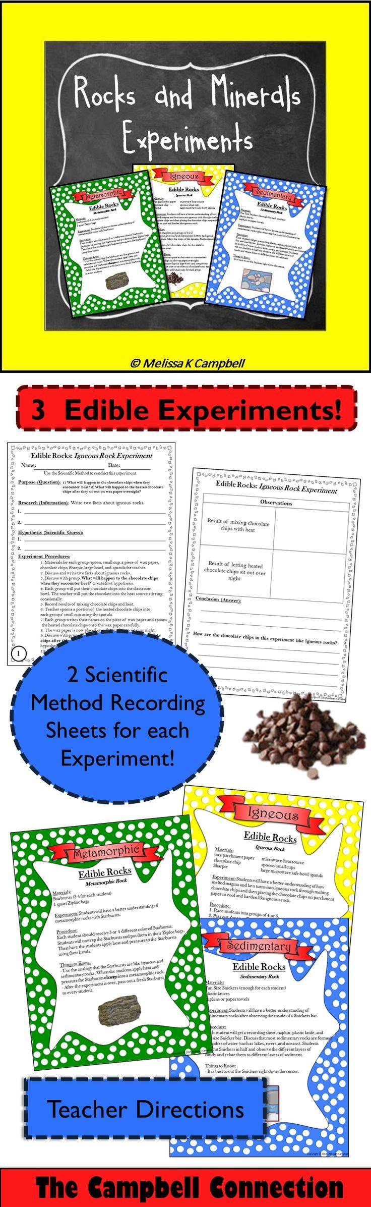 Fossils Experiments