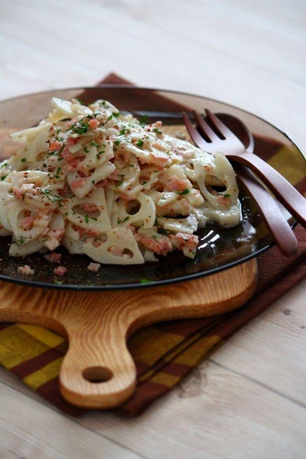 レンコンのマスタードサラダ。 by 栁川かおり | レシピサイト「Nadia ...