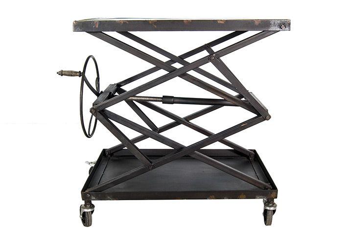 table réglable en hauteur elevation
