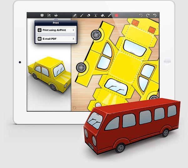 foldify app - custom printable 3D nets