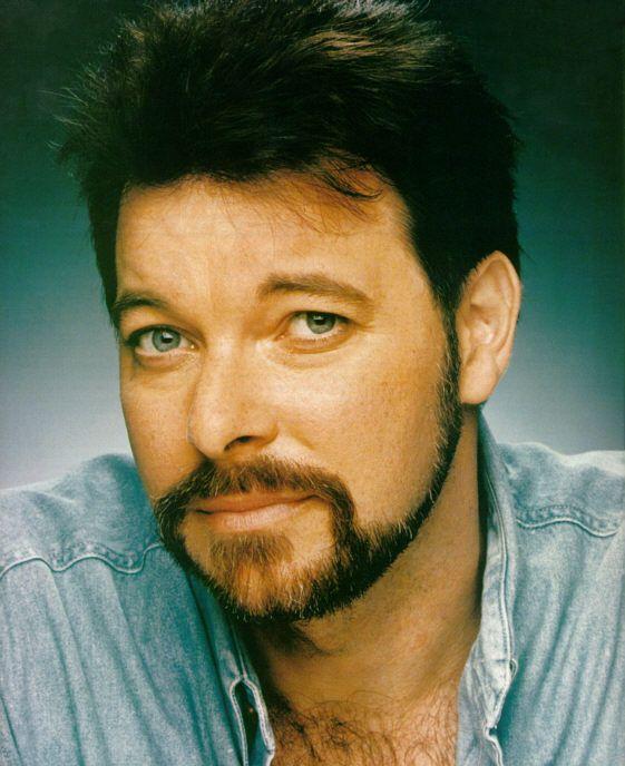 Jonathan Frakes - of Star Trek - actor, director, born 08/19/1952 Bellafonte, PA