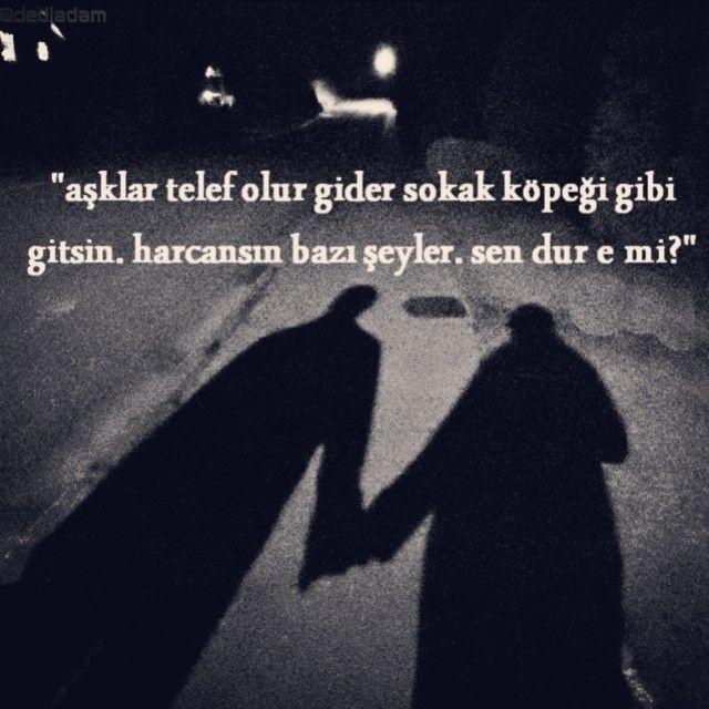 #Ben hiç görmeden de #severim seni, #kadın.#Dün olduğu gibi, #din de olduğu gibi. Rüyamda büyük, Çok büyük adamlar vardı. O büyük adamlar, Hep küçük kalpli kadınlara #aşık oldular. Neyse kadın, aşklar telef olur gider sokak köpeği gibi, gitsin. Harcansın bazı şeyler sen dur e mi yada öyle çok sev ki beni, sen gittikten sonra da yetsin bana #dediadam... - #yazar #şiirsokakta www.dediadam.com www.instagram.com/dediadam http://dediadam.tumblr.com www.flickr.com/photos/dediadam