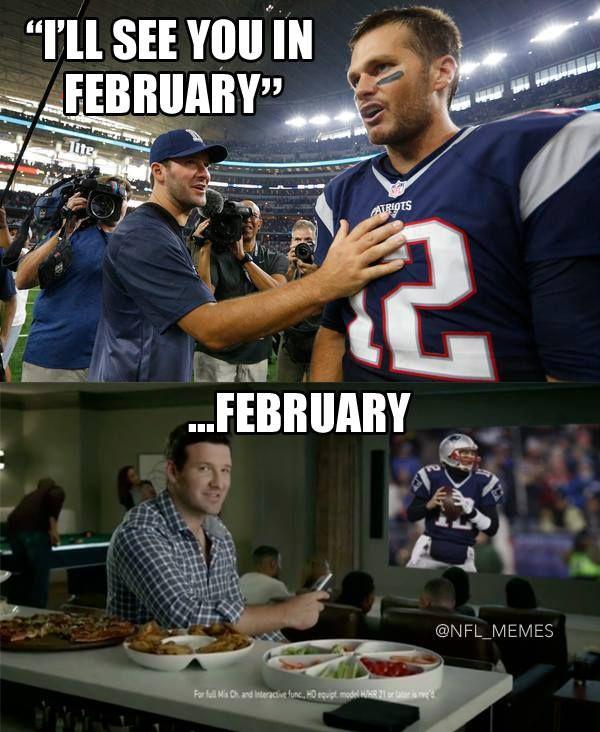 NFL memes: Tony Romo's comment to Brady