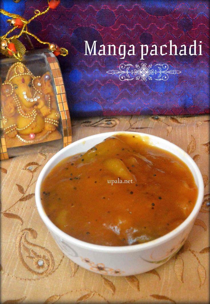 Manga pachadi http://www.upala.net/2015/04/manga-pachadi.html