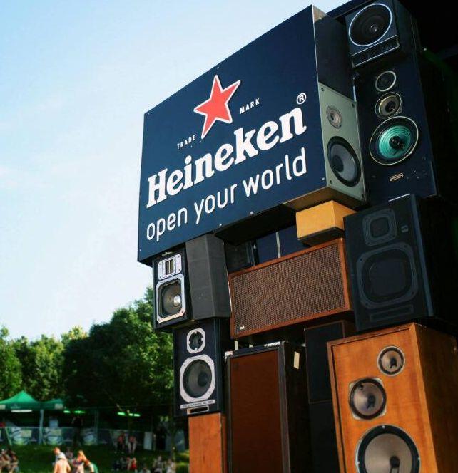 Heineken music.