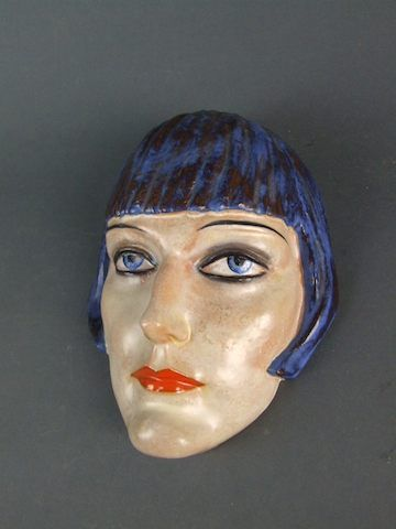 17 Best Images About Art Deco Wall Masks And Ceramic Busts