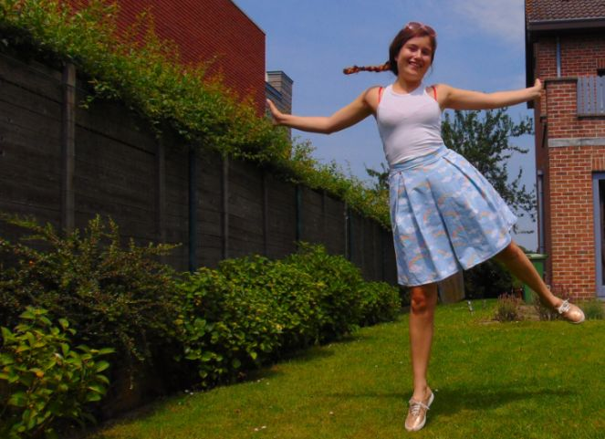 Winslow culottes - Helen's closet, made by xcocolienx / over the heels and far away