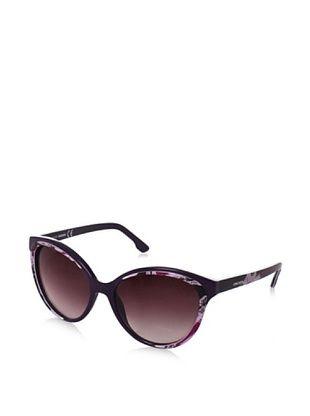 Diesel Women's 0009 Sunglasses, Wine/Pink/Fuchsia