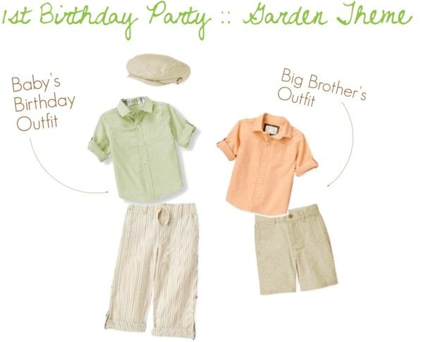 Sneak Peak :: Baby's First Birthday Party Outfit @Janie and Jack