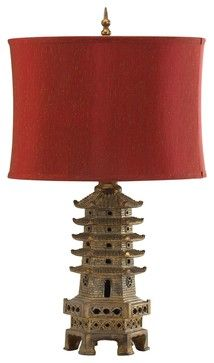 Cyan Design Pagoda Traditional Table Lamp X-57520 asian-table-lamps