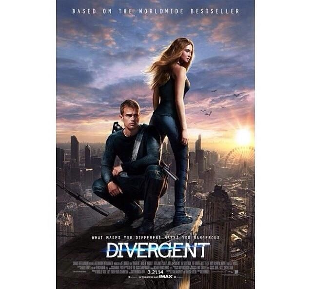 Divergent movie poster | books | Pinterest | Divergent ...