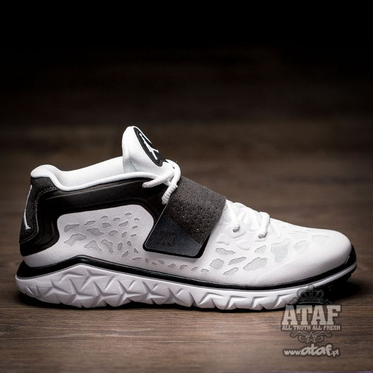 The Jordan Flight Flex Trainer 2 White/Black.