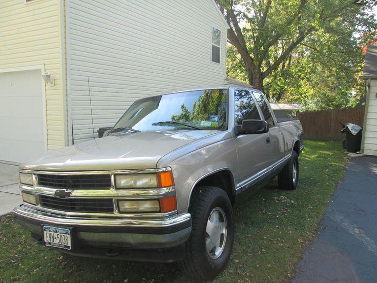 Super clean and solid 1998 Chevy Silverado 1500 Z71 4x4