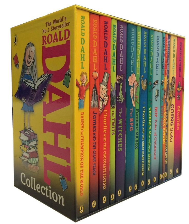 Roald Dahl Phizz Whizzing Collection 15 Books Box Set Pack - Slipcase | eBay