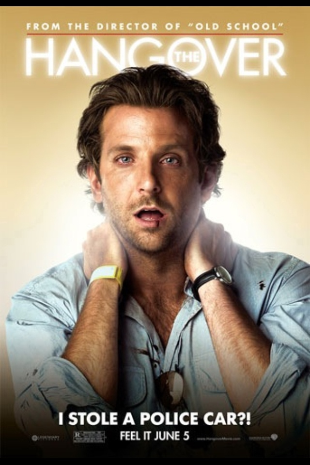 BRADLEY COOPER! especially in The Hangover <3