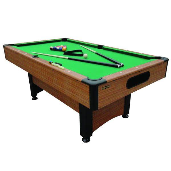 Mizerak P1253W Dynasty Space Saver 6 1/2' Billiard / Pool Table with Accessories