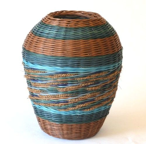 Basket Weaving Dyed Reed : Best images about baskets on contemporary