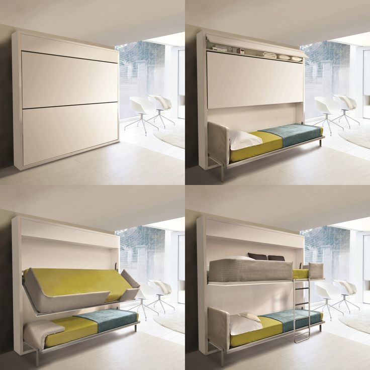 Bedroom: Creative Design For Small Space Bedroom Decoration With ...