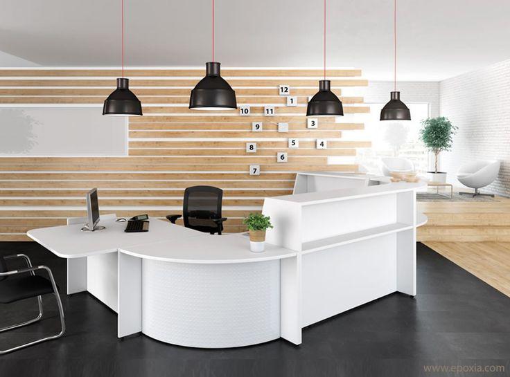 Banque d'accueil collection Bienvenue - Epoxia mobilier