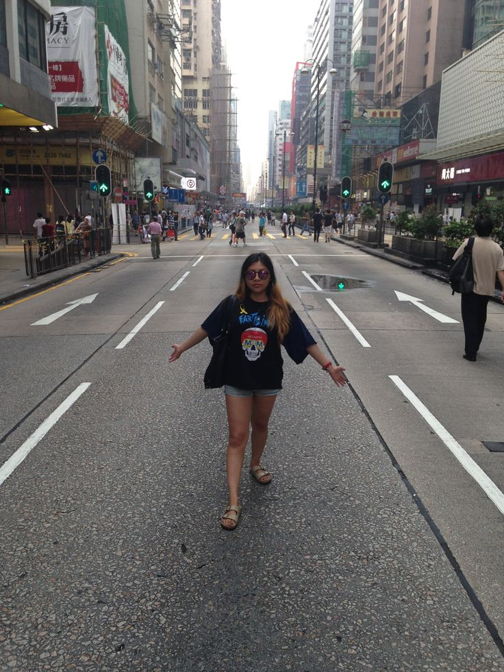 Gator Shannon braved the humidity while studying abroad in Hong Kong. #SFSU