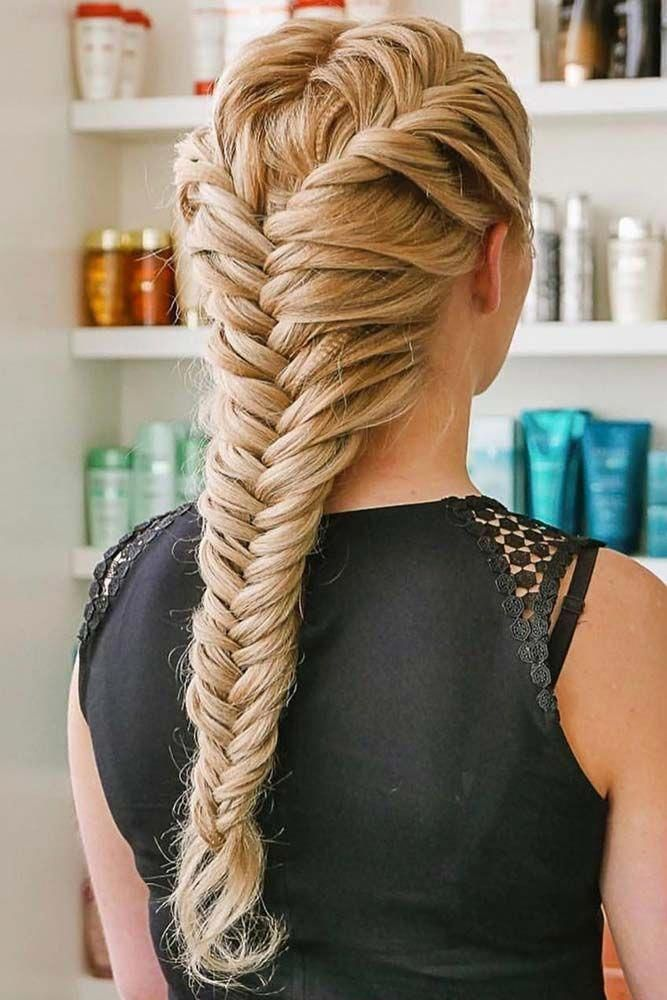 Here You Can Find A Lot Of New Ways Of Braiding Your Hair Just Go On Reading Not To Miss The French Braid Hairstyles Cool Braid Hairstyles Braided Hairstyles