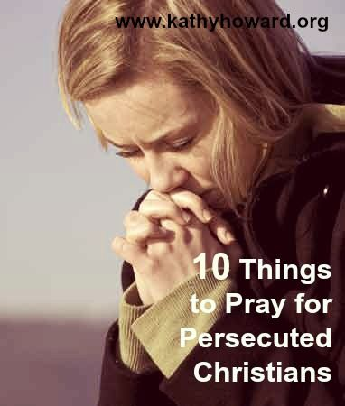 Scripture is a great guide to help us know how to pray for Christians enduring persecution around the world. Here are 10 things to pray straight from the Bible.