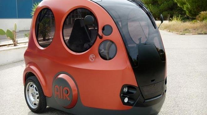 AirPod, un coche de aire comprimido que llega a los 70 km/h #SinPalabras
