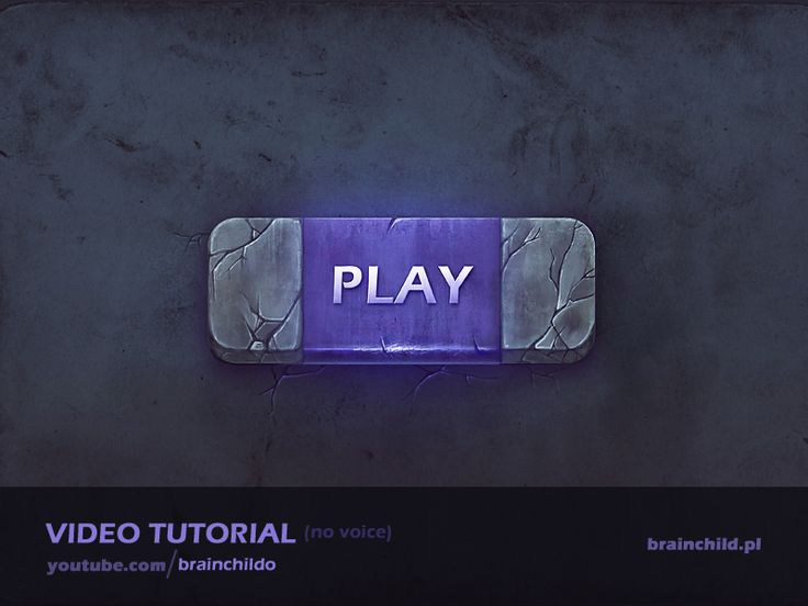 [Tutorial] The process of creating a game button (no voice)