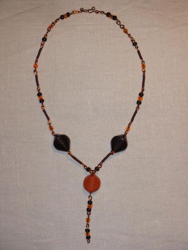 náhrdelník - korále po babině