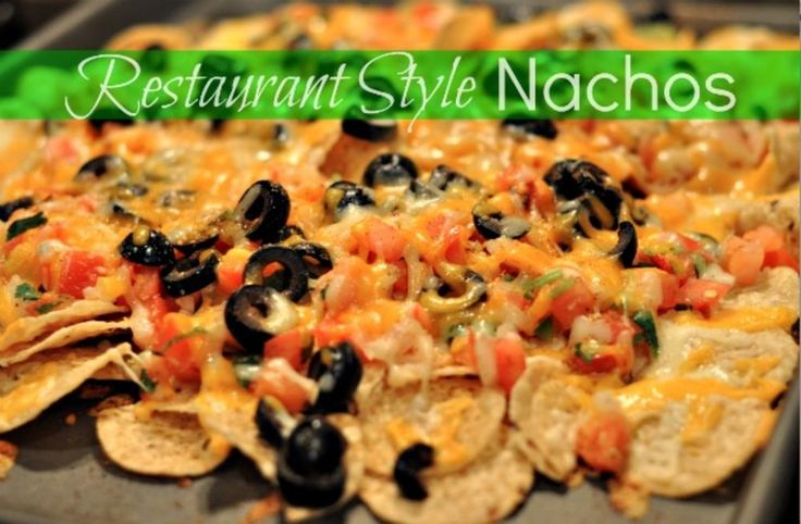 Restaurant Style Nachos for Cinco de Mayo. Nachos are tough to screw up, but we've included a valuable tip in the recipe below.