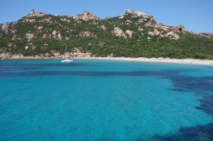 Korsika - Pláž Roccapina