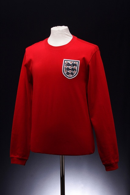 England Football Shirt (Away, 1964 - 1974)