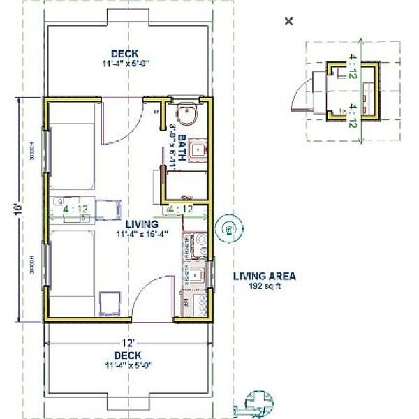78 best tiny space images on pinterest garden houses for Off grid cabin foundation