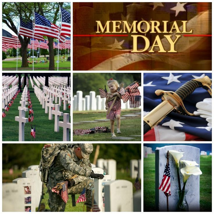 memorial day wall photos