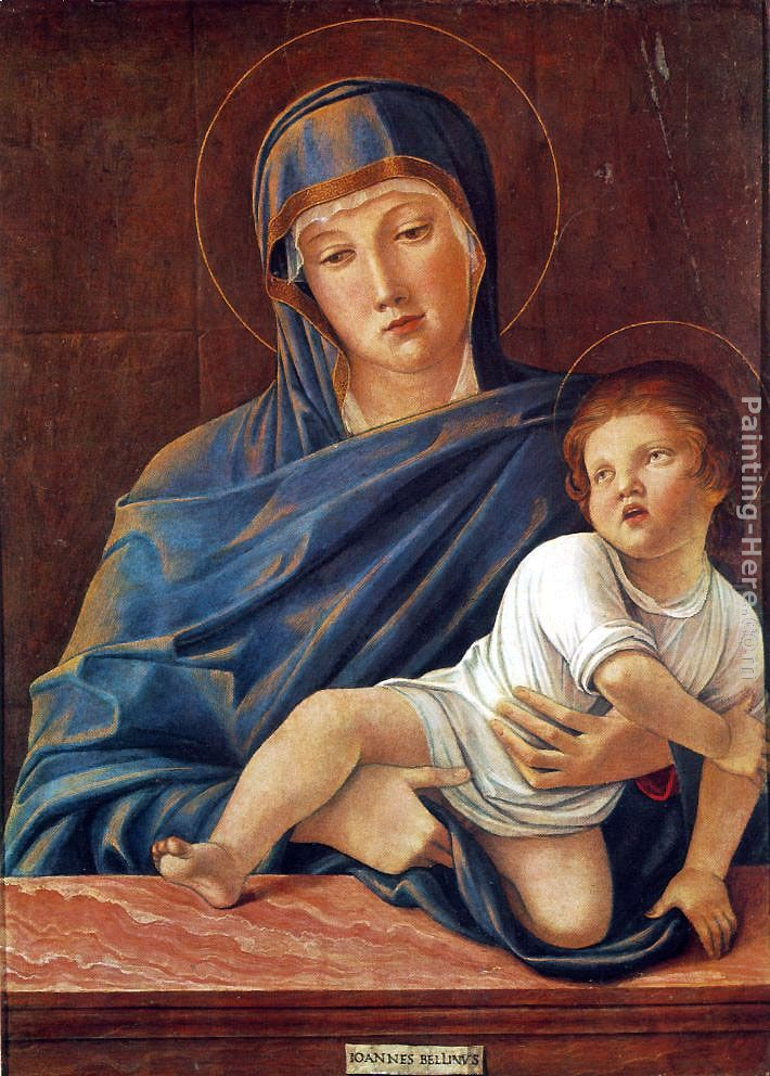 Giovanni Bellini - Giovanni Bellini Madonna and Child Painting