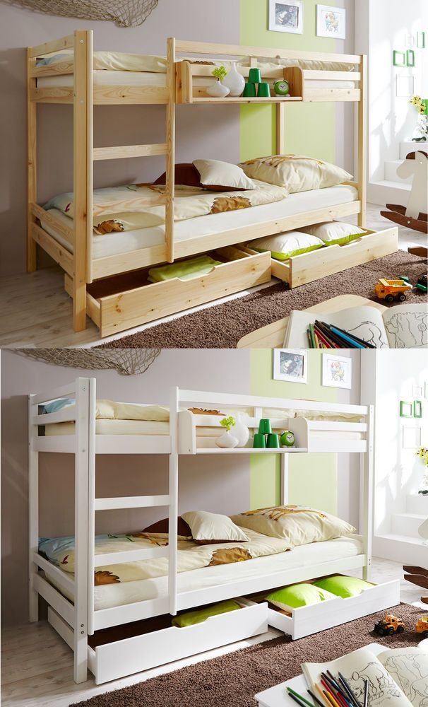 details zu p48 stockbett etagenbett einzelbett hochbett kinderbett massivholzbett kiefer. Black Bedroom Furniture Sets. Home Design Ideas