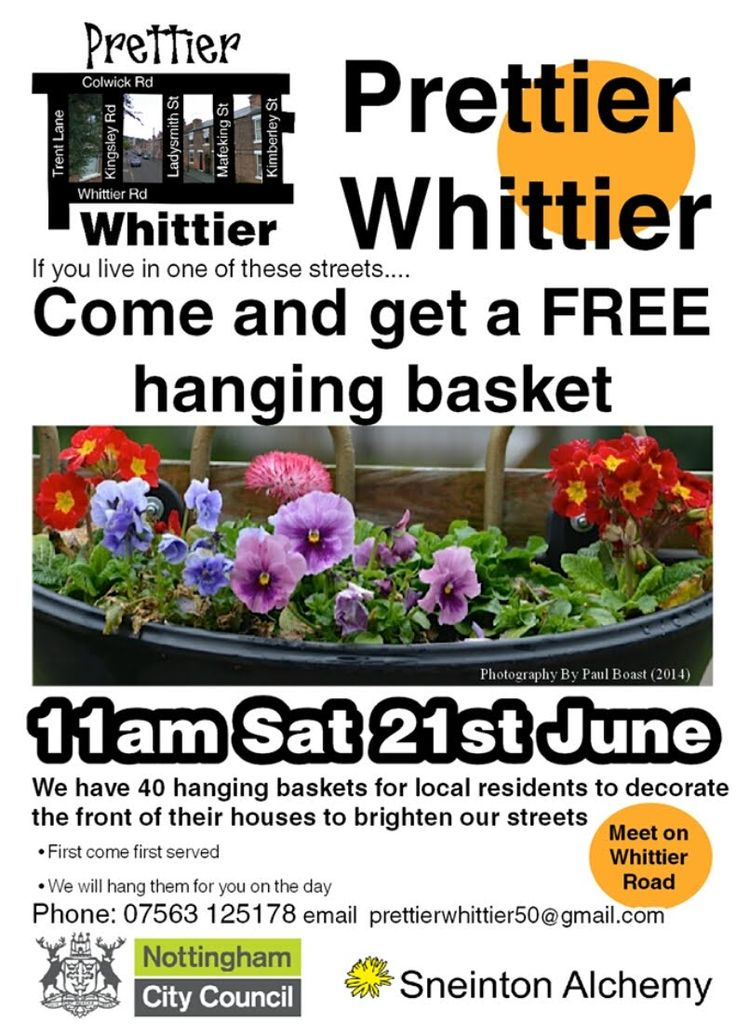 Hang out with Prettier Whittier - Sneinton Alchemy