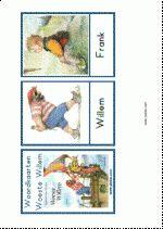 Woordkaarten Woeste Willem - klein