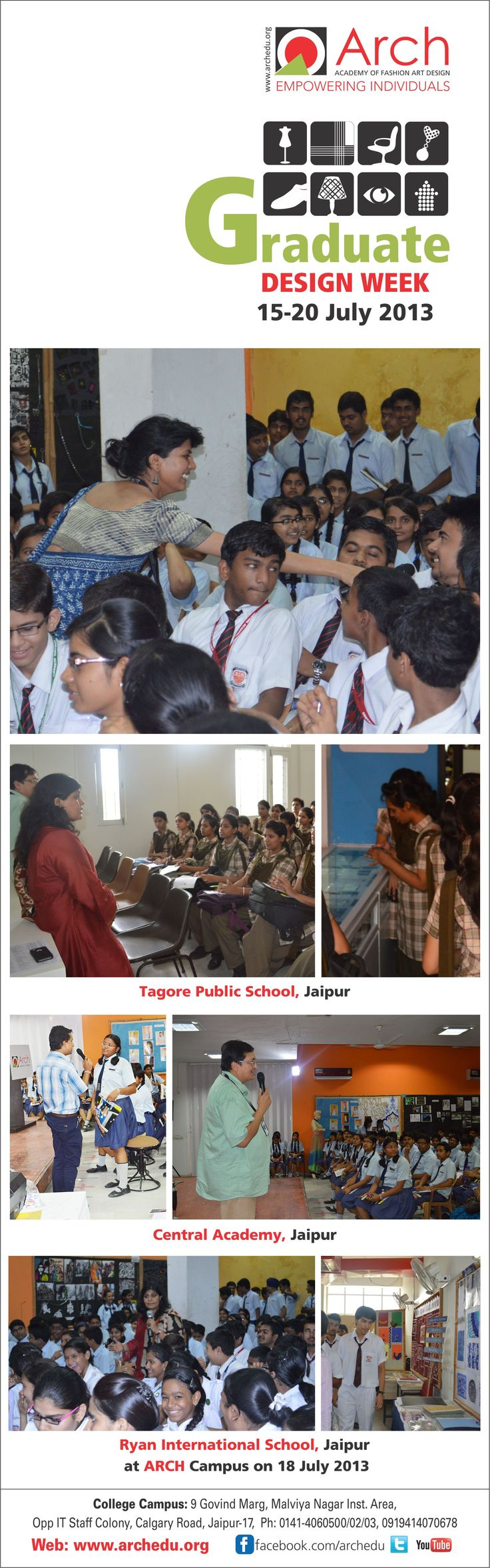 Tagore Public School, Central Academy & Ryan International School Jaipur at ARCH Campus on 18 July 2013