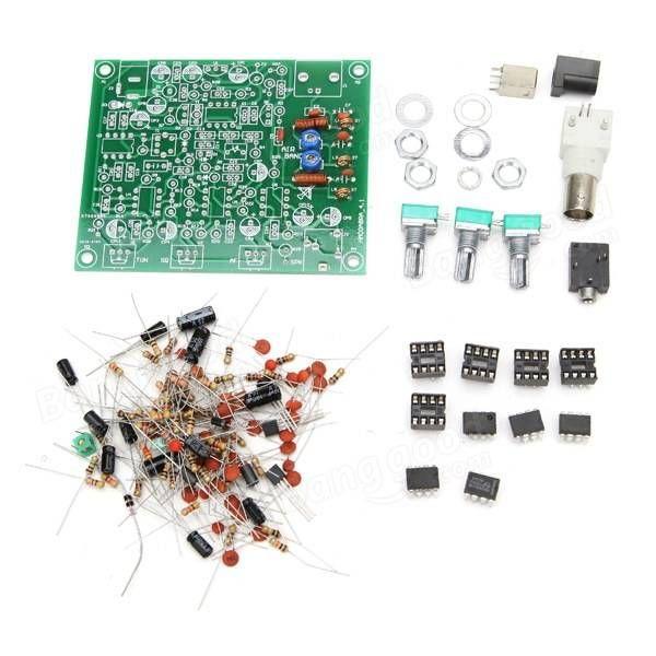 DIY CW Aviation Band Receiver Kit High Sensitivity Sale-Banggood.com