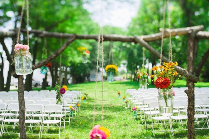 Country Pines, Lincoln, Nebraska wedding