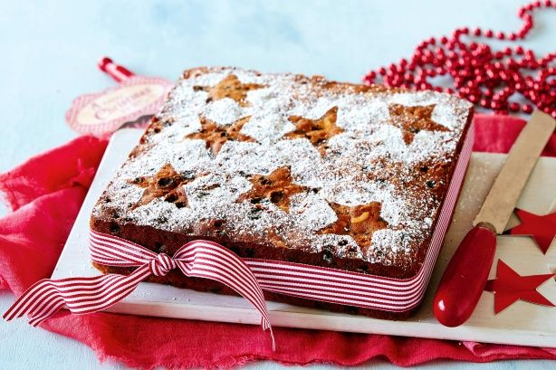Start this traditional fruit cake recipe two days earlier to ensure it's ready for your big Christmas feast.