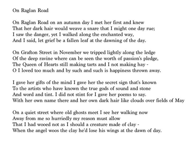 Patrick Kavanagh's Poetry