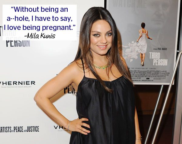 3 Times Mila Kunis Proved She's the Most Unfiltered Pregnant Celebrity Ever